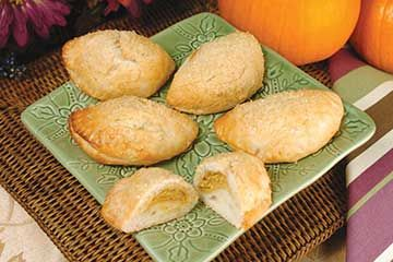 Pumpkin Empanadas - because, pumpkin. #FallFlavors #BridgfordFoods