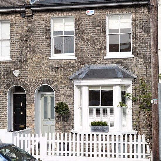 Edwardian Front Garden Design Ideas: House Tours, Victorian Terrace House And Terrace On Pinterest