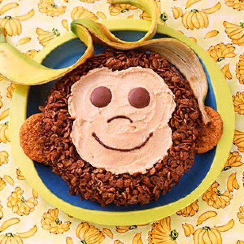 Peanut butter monkey cake