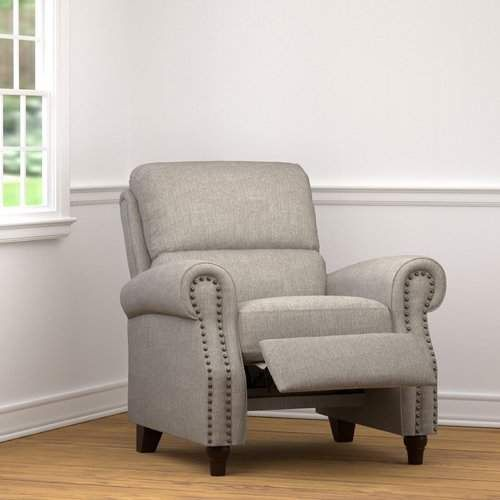 Alcott Hill Hesse Manual Recliner Furniture Recliner Recliner With Ottoman Living room furniture small recliner