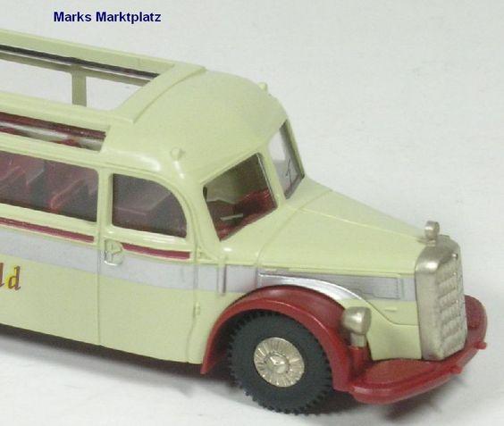 1:87 Mercedes Reisebus O 5000 Rheingold Brekina 5133 NEU OVP | eBay