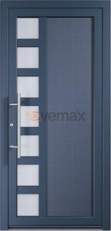 Puertas entrada aluminio exterior buscar con google for Puertas metalicas exterior