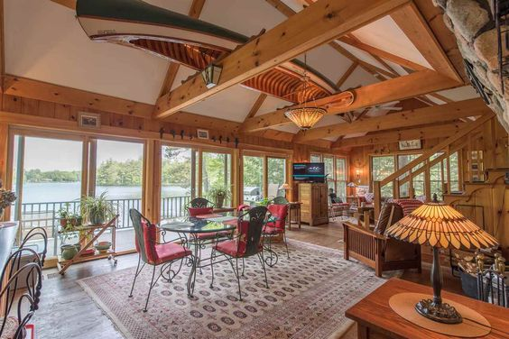 Wakefield NH Waterfront Vacation Homes - Seven Lakes Real Estate | Property Details | MLS # 4620301