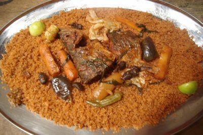 Tieboudienne  (riz au poisson) plat sénégalais