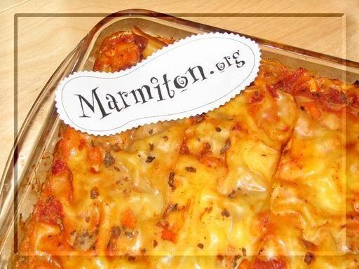 lasagne on