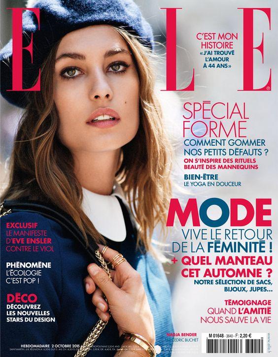 ELLE France, October 2015