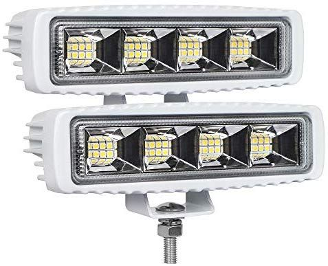 Amazon Com Exzeit Waterproof Led Boat Lights 2 Pc 72w Waterproof Tested Deck Dock Marine Lights 4000lms 120 Flood In 2020 Led Boat Lights Waterproof Led Boat Lights