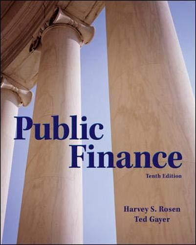 Pdf Download Public Finance The Mcgraw Hill Series In Economics