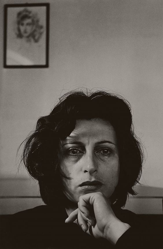 blueblackdream: Herbert List, Anna Magnani #1, San Felice, Italy, 1950
