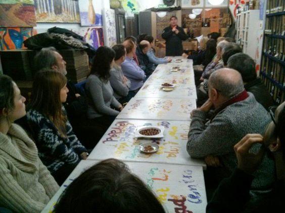 vino e ilusión en el blog de la Vinatería Yáñez: Ayer en Lunes de Charla y Cata y oferta rosconera!...
