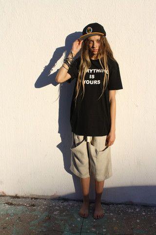 Desiree Klein - Folded Pocket Shorts