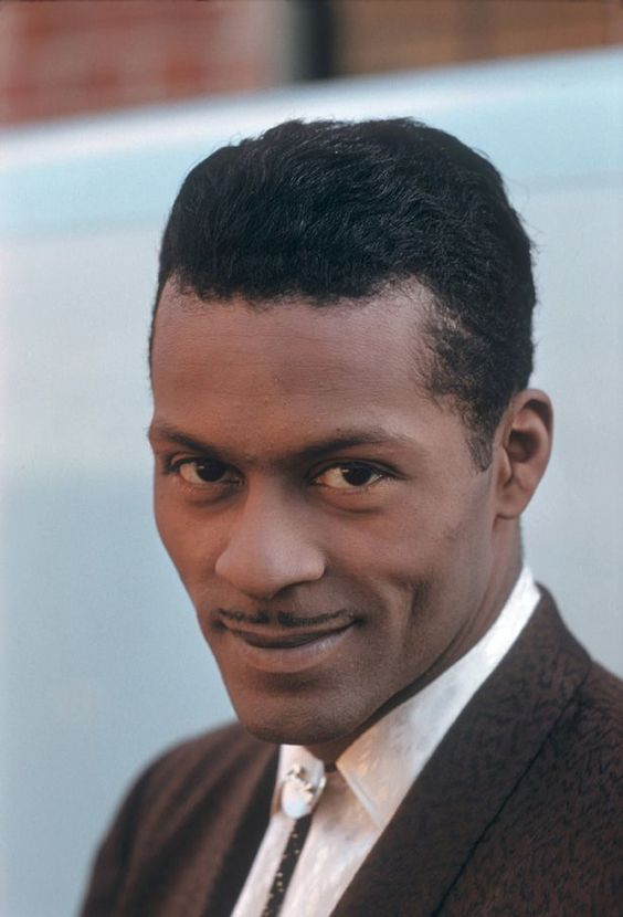 Chuck Berry, 1959. Photo: Richard Miller.: