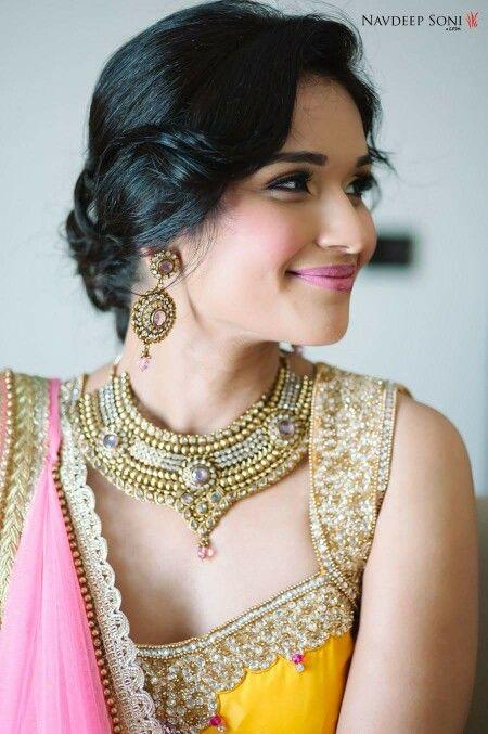 Exquisite bridal jewellery #IndianWeddings