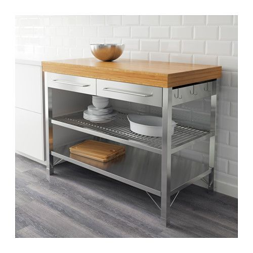 Rimforsa Work Bench Ikea Kitchen Island Breakfast Bar Pinterest Rolling Kitchen Island