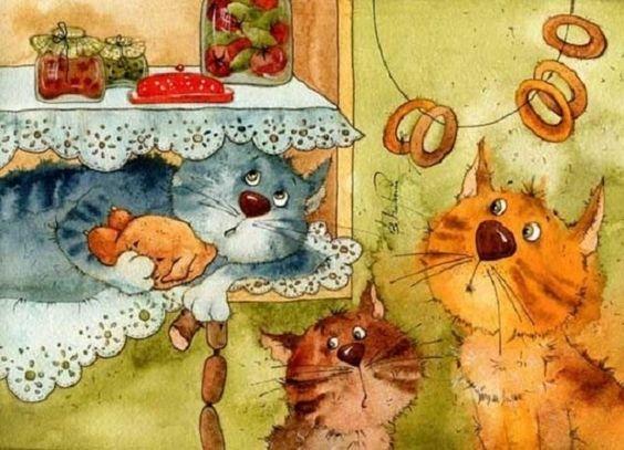 Иллюстрации художников, автор Виктория Кирдий