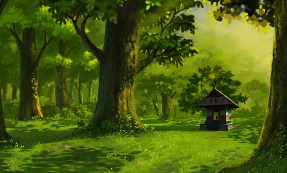 Creating Photoshop Backgrounds For 2D Animation Movies