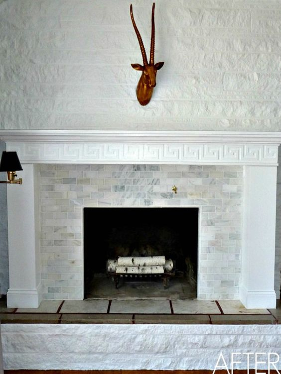 Could Do Instead Of Herringbone Pattern Like Bullnose Tiles Since Our Brick Is Uneven House