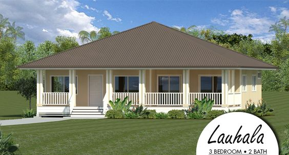 Hpm lauhala packaged home for hawaii house plans for Hawaii package homes