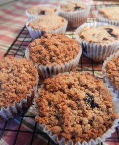 Blueberry Streusel Muffins - Gluten Free