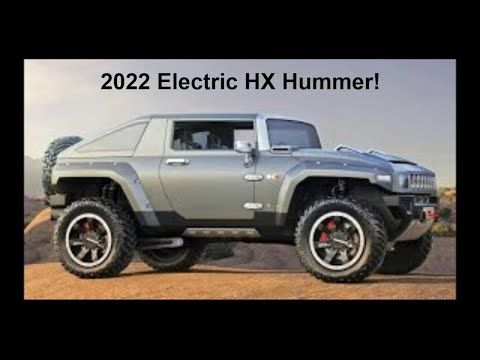 Here S The Hummer Hx Electric Suv Truck It S Envisioned As Being Able To Compete With And Beat The Tesla Cybertruck Bu In 2021 Hummer Hx Hummer Electric Pickup Truck