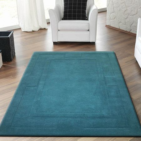 tapis apollon bleu canard 150x210 140e bleu canard. Black Bedroom Furniture Sets. Home Design Ideas