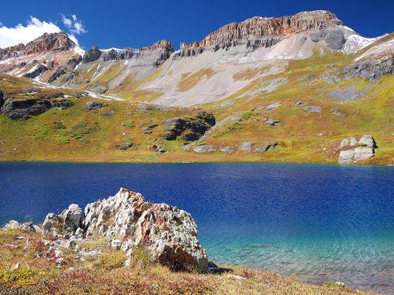 Ice Lakes, San Juan Mountains, autumn, Colorado