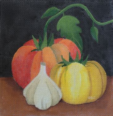 Heirloom Tomatoes/Garlic