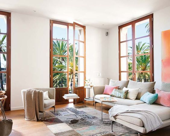 piso precioso en Mallorca- piso reformado para ganar luz y espacio