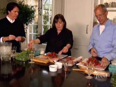 Food network ina garten how to make and easy antipasto platter favorite recipes pinterest - Barefoot contessa cooking show ...