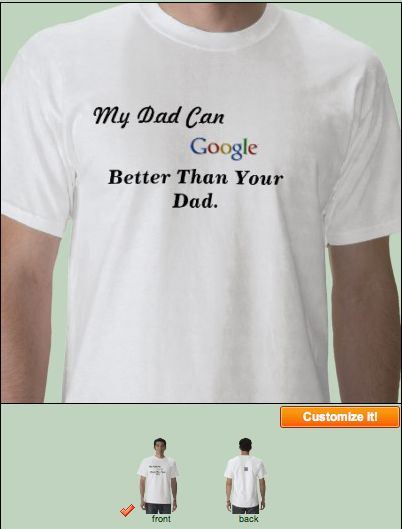Mens - My Dad Can Google Better Than Your Dad