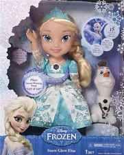 DIsney Baby Snow Glow Globe Frozen Queen Elsa Olaf Play Singing Light up Doll
