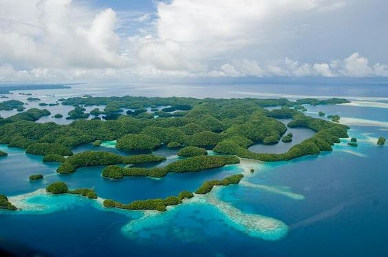 Lagoa Sul das Ilhas Rock, Palau
