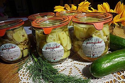 Senfgurken süß - sauer, ein tolles Rezept aus der Kategorie Gemüse. Bewertungen: 151. Durchschnitt: Ø 4,7.