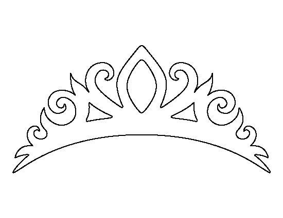 Princess crown templates for children tiara pattern use the printable