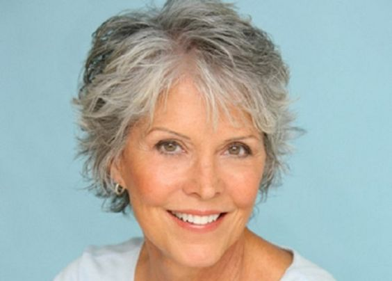 Styles For Grey Hair: Bobs, Gray And For Women On Pinterest