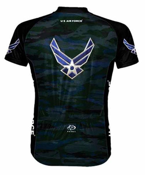 Air Force Aim High USAF Cycling Jersey Mens with DeFeet Socks Primal Wear U.S