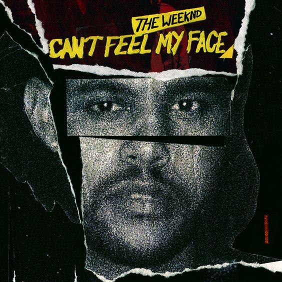 The Weeknd – Can't Feel My Face (single cover art)