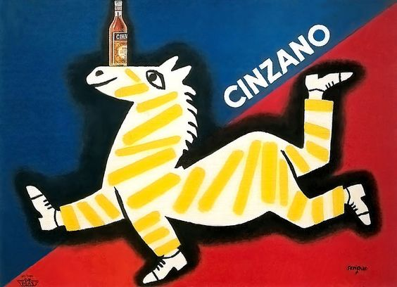 Raymond Savignac - Cinzano, 1951