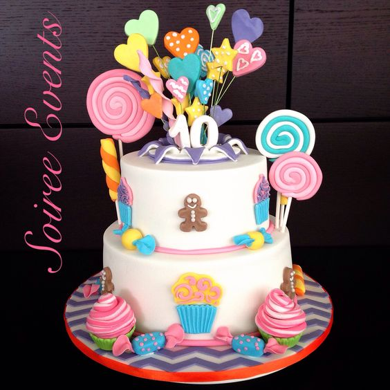 "Katy Perry ""California Gurls"" Candy Land Themed Birthday"