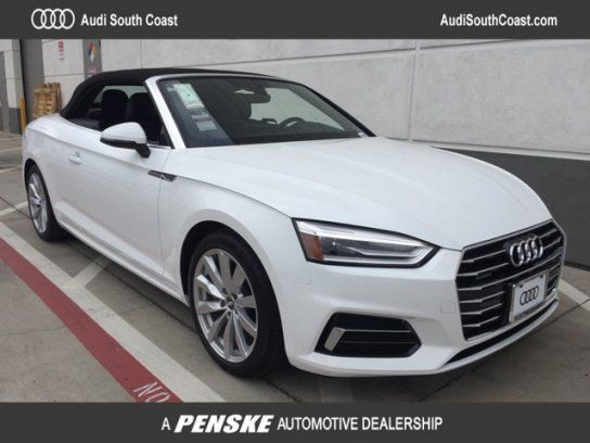 Convertible 2018 Audi A5 2 0t Premium Cabriolet With 2 Door In Santa Ana Ca 92705 Audi A5 Cabriolets Audi
