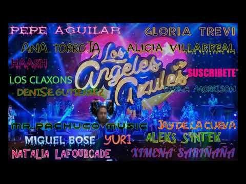 Los Angeles Azules Super Mix Completo En Vivo Ft Natalia Lafourcade Ximena Y Muchos Mas Youtube Liston De Tu Pelo Jay De La Cueva Miguel Bose