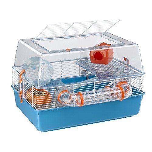Ferplast Duna Fun Hamster Habitat Wide Playing Areas Tubes And