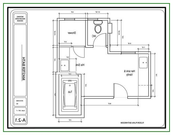 Master bathroom floor plans master bathrooms bathroom for Master bath floor plans