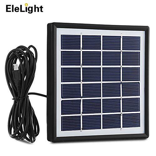 Elelight Solar Panel 1 8w Portable Multipurpose Solar Pa Solar Usb Charger Solar Charger Solar Panels