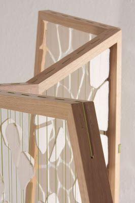 Arquitectura de Casas: Biombo celular para decoración interior