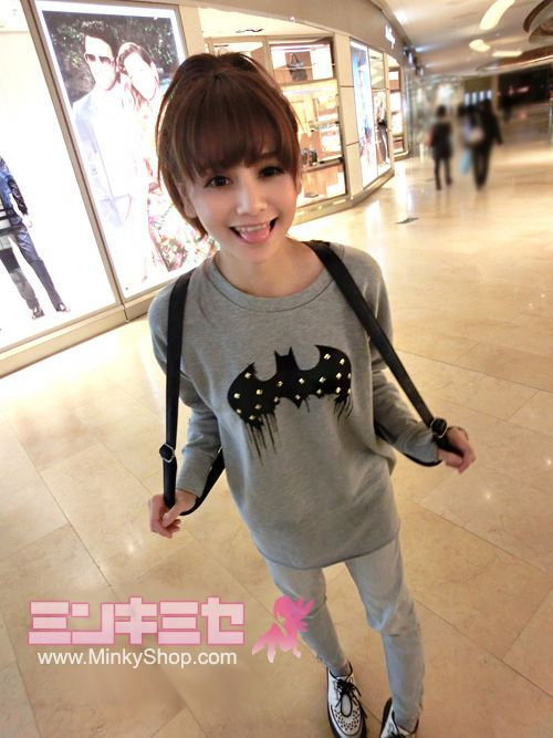 Harajuku Batman Sweatshirt minkyshop.com