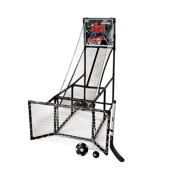 Marvel Spider-Man 3-in-1 Sports Arcade by Franklin, Multicolor
