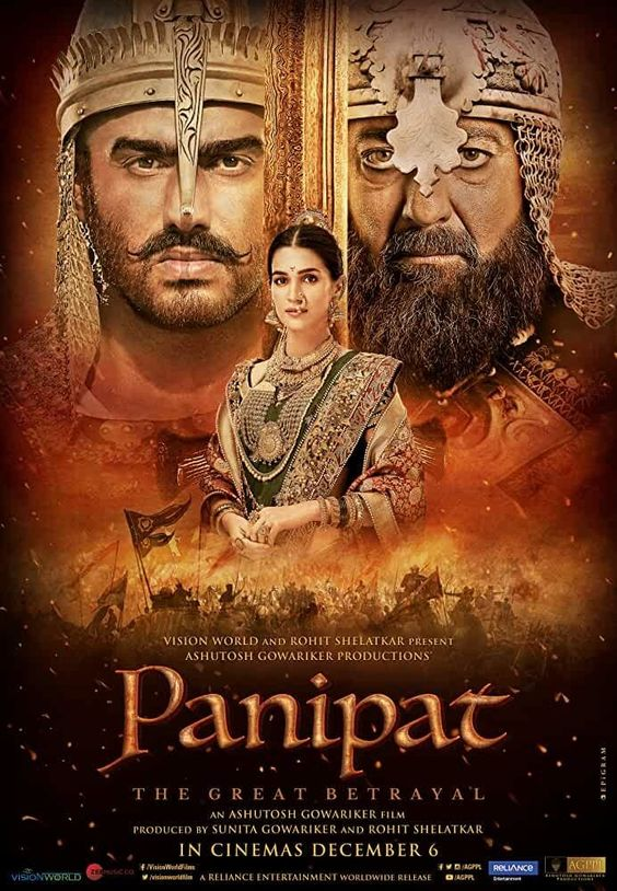 Panipat (2019) WEB-DL 720p Full Hindi Movie Download, Panipat Full Movie Free Download. Download Panipat Full Movie From Here.
