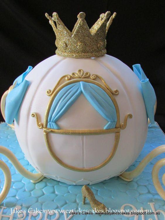 ... cinderella birthday spunky cakes cinderella carriage cake bday party