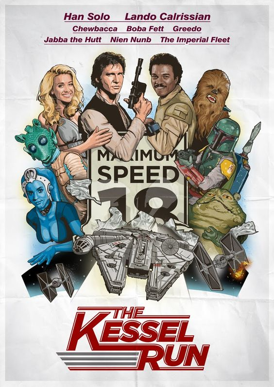 Oh man, I would watch this movie in a heartbeat. THE KESSEL RUN (starring Han Solo): Movie Posters, Wars Stuff, Wars Posters, Star Wars, Stars Wars, Han Solo, Sci Fi, Starwars